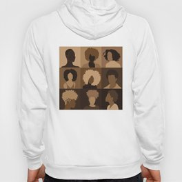 FOR BROWN GIRLS COLLECTION COLLAGE Hoody