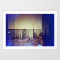 toronto Art Prints featuring Toronto by Jordan Osbourne