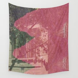feeling pink on chapel street Wall Tapestry
