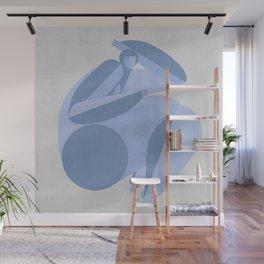 geomerty girl Wall Mural