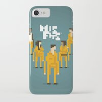 misfits iPhone & iPod Cases featuring Pixel Art Misfits by LoweakGraph