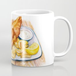 Fish & Chips Coffee Mug