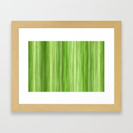 Ambient 3 in Key Lime Green Framed Art Print
