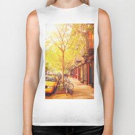 Autumn - East Village - New York City Biker Tank