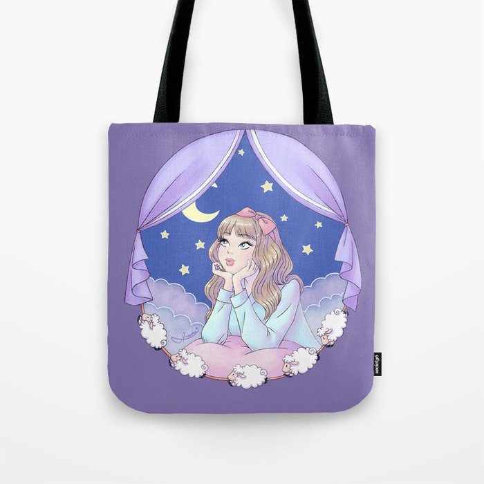 Night Dreamer Tote Bag