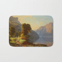 George Caleb Bingham A View of a Lake in the Mountains 1859 Bath Mat