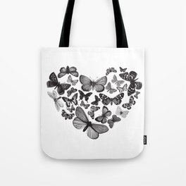 BUTTERFLY LOVE MONO Tote Bag
