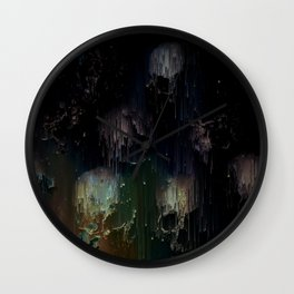 These Stars Rot With Me Wall Clock