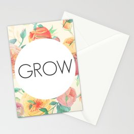 Bloom & Grow Stationery Cards