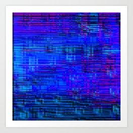 Re-Created  Checks 17 Art Print