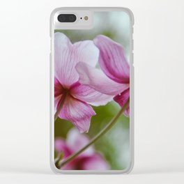 flower photography by Charlotte B Clear iPhone Case