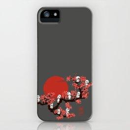 Traditinal Kodamas iPhone Case