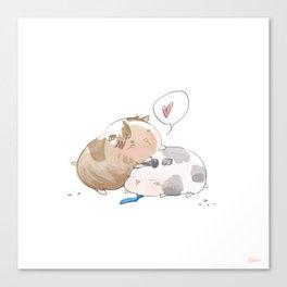 sastiel guinea pigs (supernatural) Canvas Print