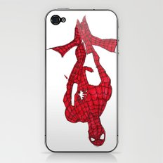 Hanging Out. Spiderman iPhone & iPod Skin