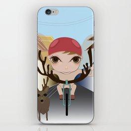 Deery Fairy Riding a Bike iPhone Skin