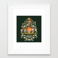 alice wonderland Framed Art Prints featuring Wonderland by rosekipik