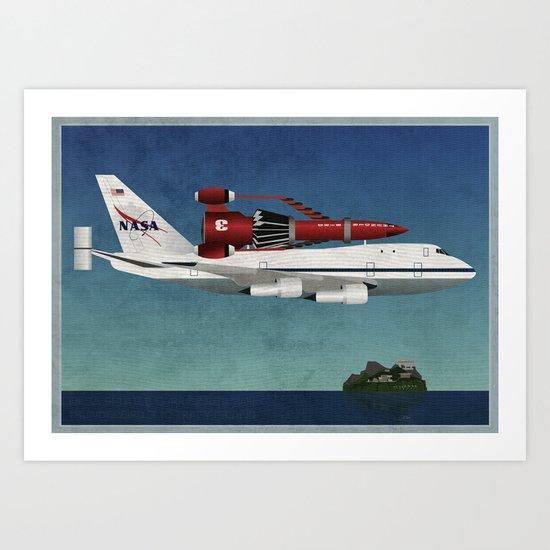 Thunderbird Carrier Art Print