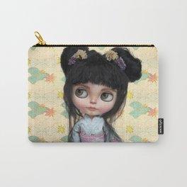 Kimono Girl by Erregiro Carry-All Pouch