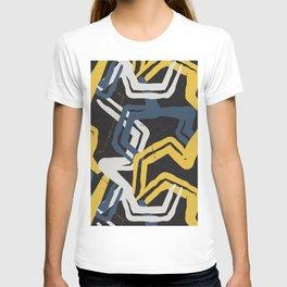 Mustard lines T-shirt