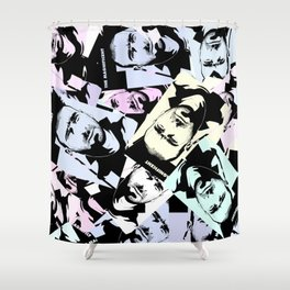 the king eric Shower Curtain