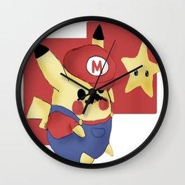 Pikario!  Wall Clock