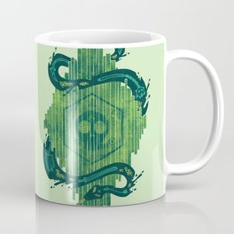 Green is the Color of Death Coffee Mug