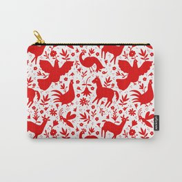 Otomi in red Carry-All Pouch