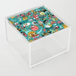 2019 New Year Pattern Acrylic Box