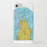 the life aquatic iPhone & iPod Cases featuring Our Life Aquatic by Hamburger Hands