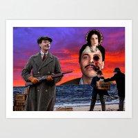boardwalk empire Art Prints featuring Harrow - Boardwalk Empire by Danielle Tanimura