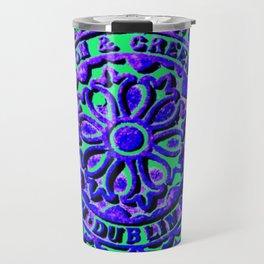 Blue Coalhole Cover Travel Mug