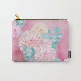 Dahlia Bush #society6 Carry-All Pouch