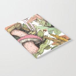 wild mushrooms Notebook