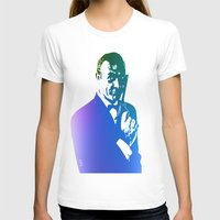 james bond T-shirts featuring James Bond - True Blue by D77 The DigArtisT