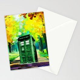 PAINTING TARDIS Stationery Cards