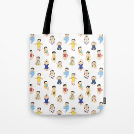 lots of babies! Tote Bag