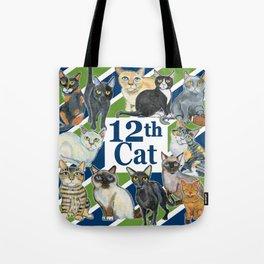 12th Cat Tote Bag