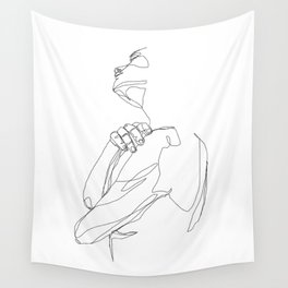 Standing Wall Tapestry