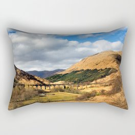 Glenfinnan Viaduct Rectangular Pillow