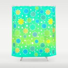 Joyful summer Shower Curtain
