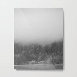 Foghouse Metal Print
