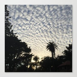 Stanyan Clouds Canvas Print