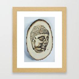 Buddha at Peace Framed Art Print