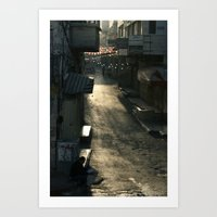 palestine Art Prints featuring Nablus Palestine by Sanchez Grande