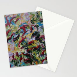 Unchained: Bold and Colorful Orginal painting Stationery Cards