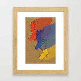 Modern(s) Framed Art Print