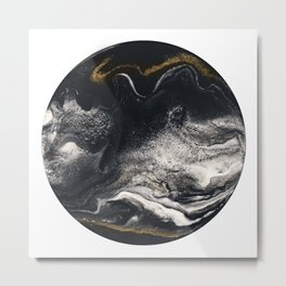 RESIN ART Metal Print