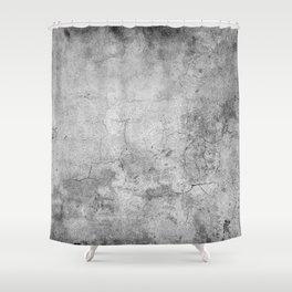 Concrete Cement Shower Curtain