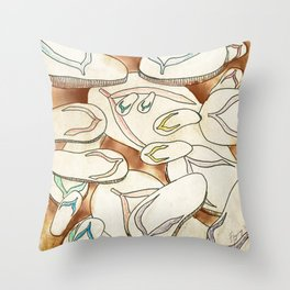Tsinelas Throw Pillow