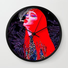 RED CIGARETTE Wall Clock